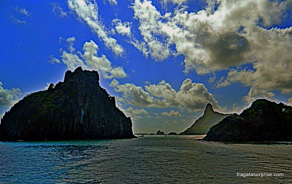Passeio de barco pelo Mar de Dentro, Fernando de Noronha