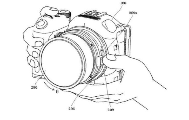 Canon XC15, рисунок из патента