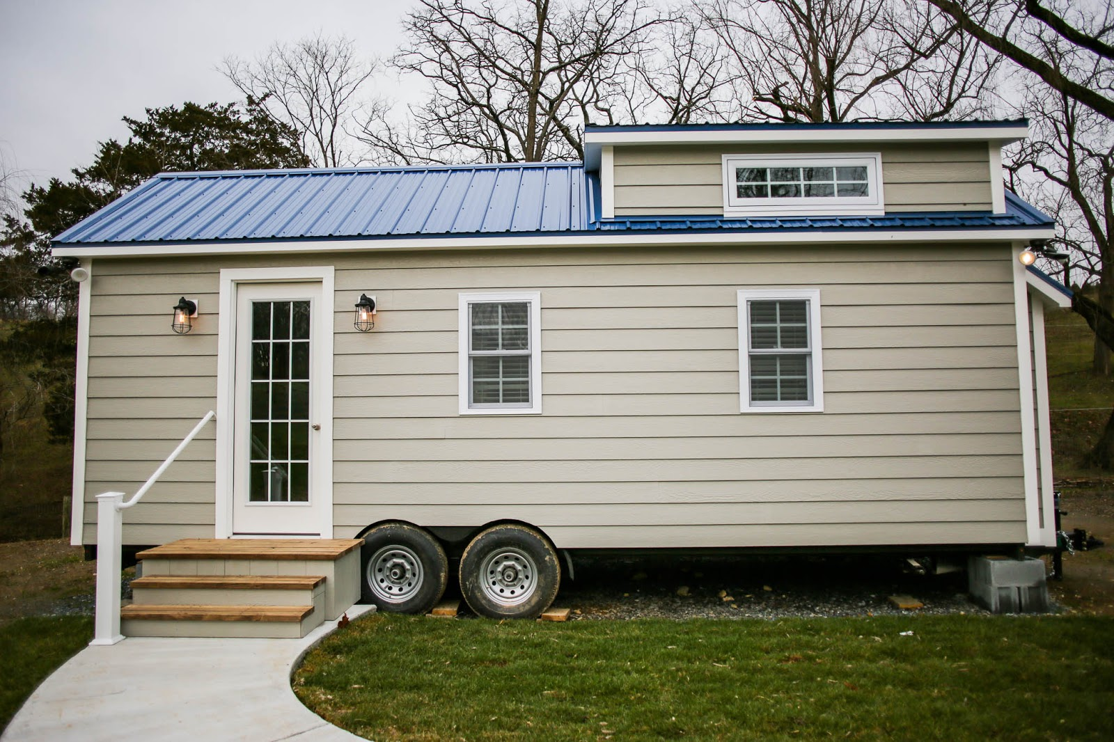 Modern Farmhouse From Liberation Tiny Homes TINY HOUSE TOWN