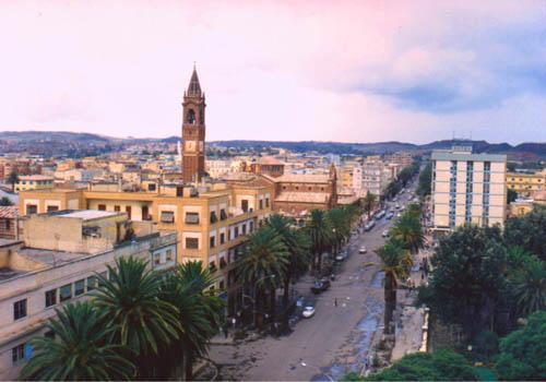 Asmará, Capital da Eritreia
