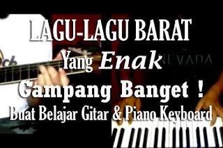 Lagu Yang Paling Gampang Untuk Belajar Gitar, Piano, Keyboard