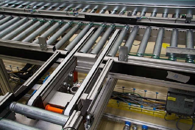 Powered Roller Conveyor System