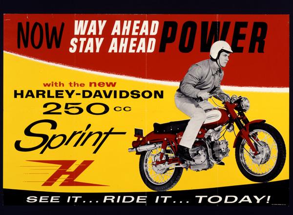 Harley Davidson Advertising: Harley-Davidson Advertising 1960's