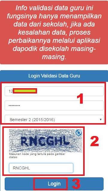 gambar login info gtk kemdikbud semester 1 tahun 2016/2017