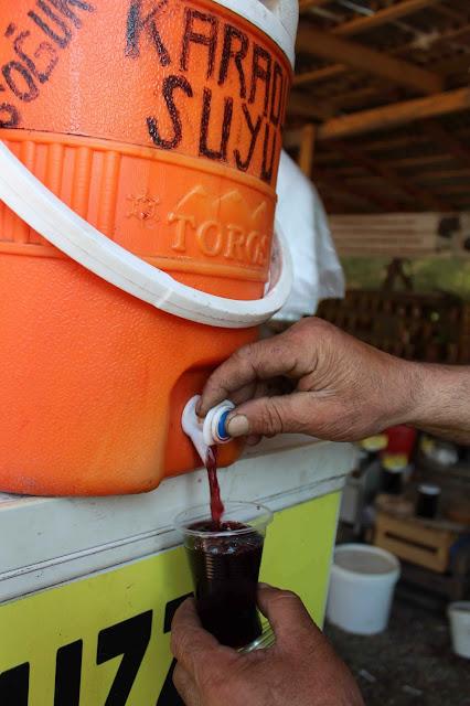 köylü pazarı karadut suyu