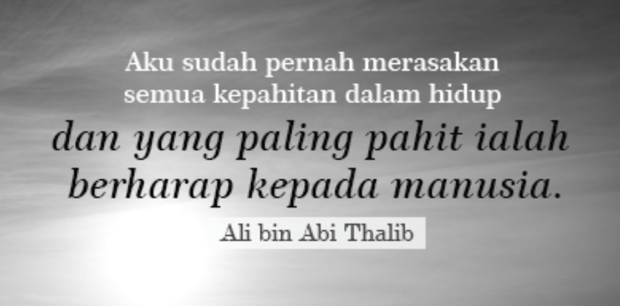 Kata Kata Bijak Dari Ali Bin Abi Thalib Kumpulan Puisi