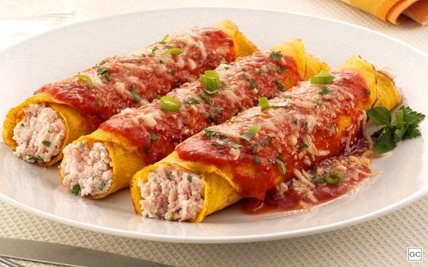 Receita de panqueca de cenoura (Imagem: Reprodução/Guia da Cozinha)