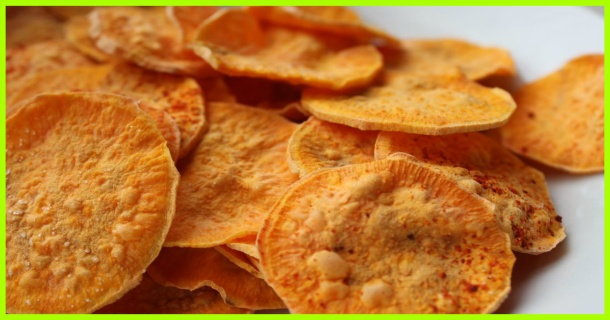 Baked Sweet Potato Chips Smartpoints 1 Weight Watchers