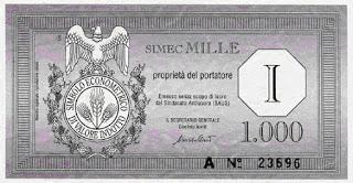 nega il debito stampa il SIMEC