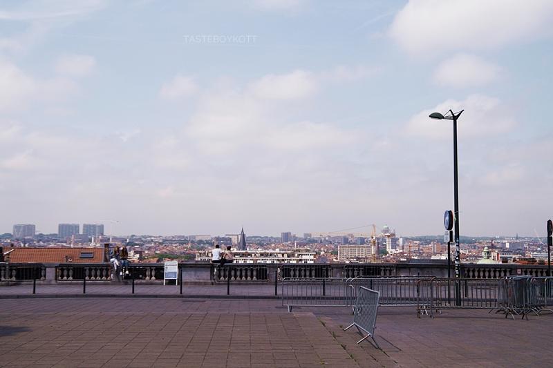 View over Brussels // Blick über Brüssel | Interrail-Reise Juli 2017 | Tasteboykott