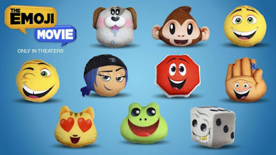 Коллекция игрушек Emoji Movie в наборах Happy Meal 2017
