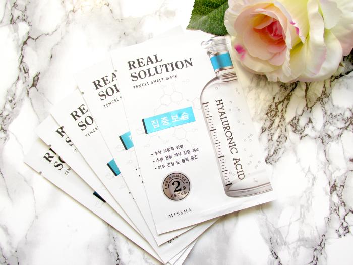 Review: Missha Real Solution Tencel Sheet Maske - Intensive Moisturizing Hyaluronic Acid