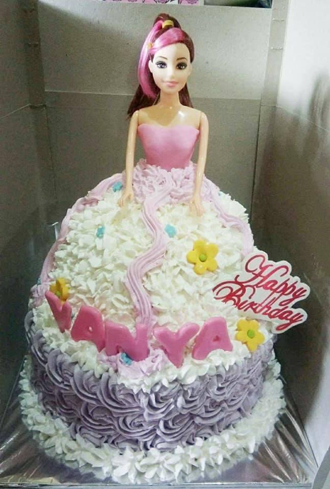 Kue Ulang Tahun Boneka Barbie
