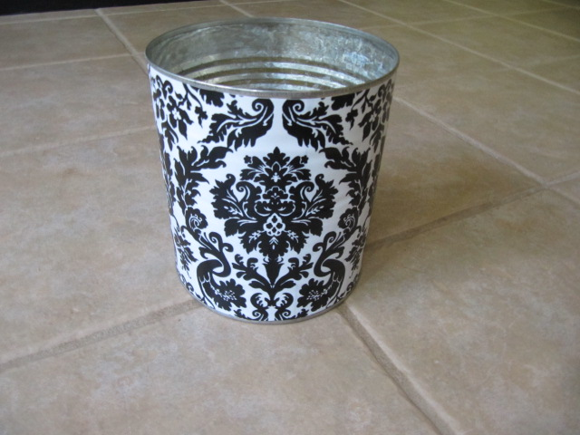 Sew Many Ways Vinyl Covered Recycled Cans