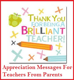 Appreciation messages and letters teachers teachers appreciaton messages for teachers thank you expocarfo