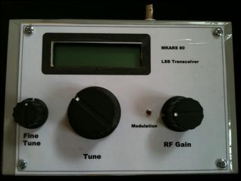 EI3FEB: MKARS 80 QRP SSB Transceiver for 80m