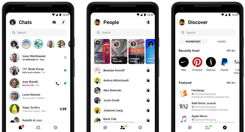 Facebook rolling out new Messenger 4 app update with simplified navigation, dark mode, customizable chat bubbles and more
