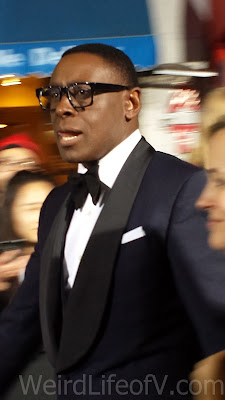 David Harewood looking quite dapper in a tux