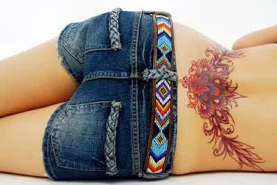 popular lower back tattoos for women