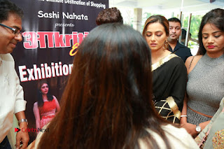 Bollywood Actress Sana Khan Launches Aakrithi Exibition  0415.JPG