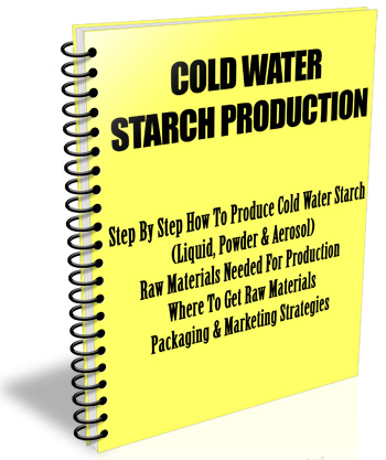 Cold-Water-Starch