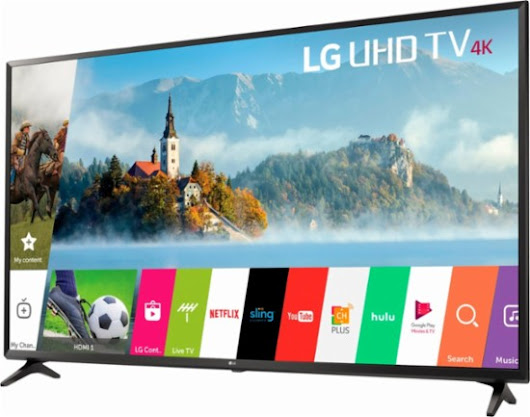 LG 55UJ6300 HDTV Highlights and Specs