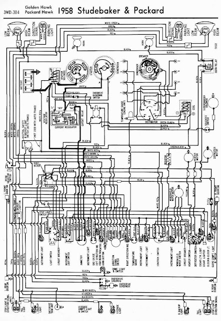 1958 house wiring 1958 chevrolet wiring diagram