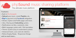 Download phpSound – Music Sharing Platform v1.2.3
