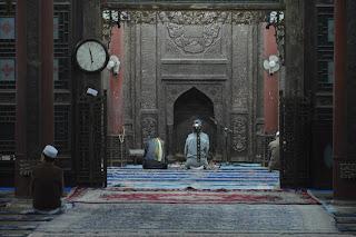 Salle de prière à la mosquée de Xi'an