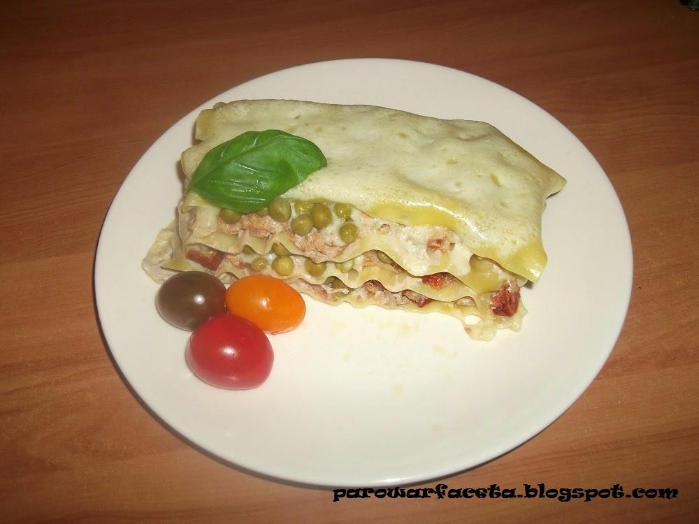 Lasagne z mięsa mielonego z parowaru
