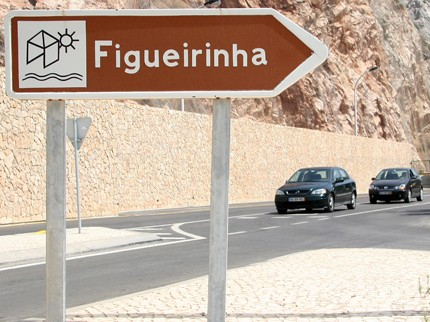 Entrada Praia da Figueirinha