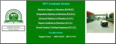 NTI Students' Portal Login & Registration | www.ntionline:net