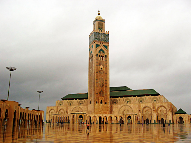 Hassan II Mosque Front View