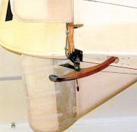 Хвостовой костыль самолета АИР 1