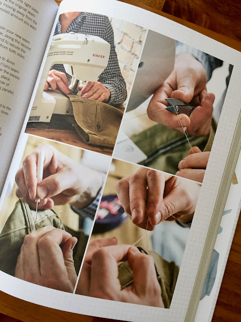 Diary of a Chain Stitcher: Sewing Book Review of Make It, Own It, Love It by Matt Chapple