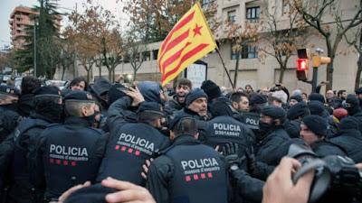 Mossos, vigilancia, policias, guardas civiles