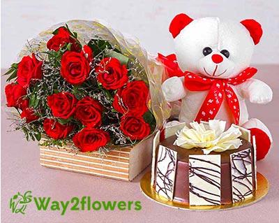 Online Birthday Flowers & Cakes