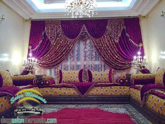 Salon marocain 2017 pour la vraie conception des meubles
