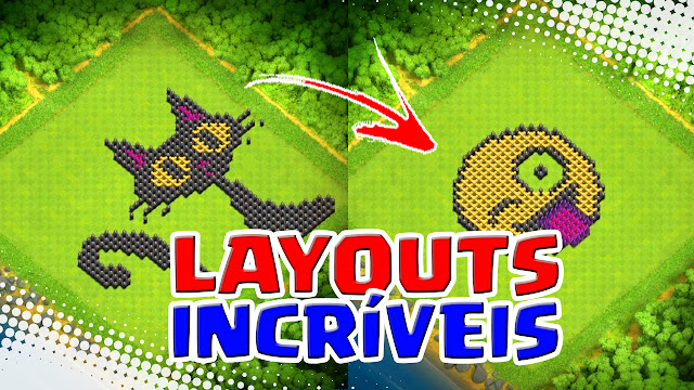 Layouts Estilosos do Clash of Clans
