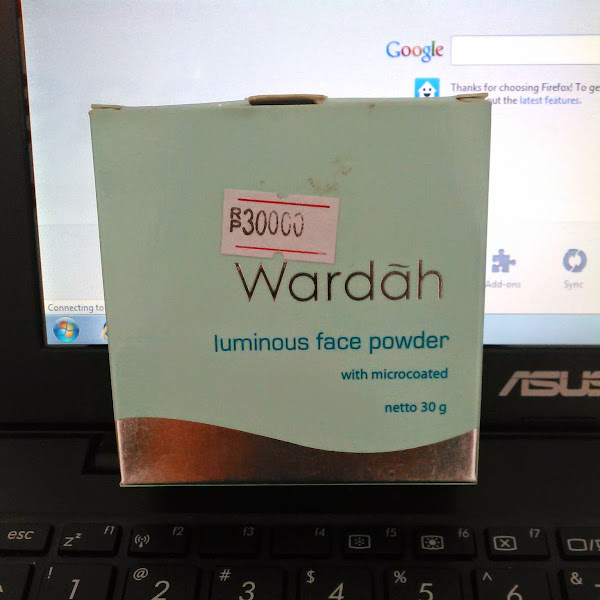Review: Wardah Luminous Face Powder (Ivory)