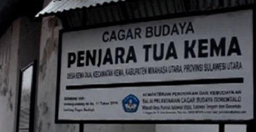 Wisata Penjara Portugis Kema di Sulawesi Utara