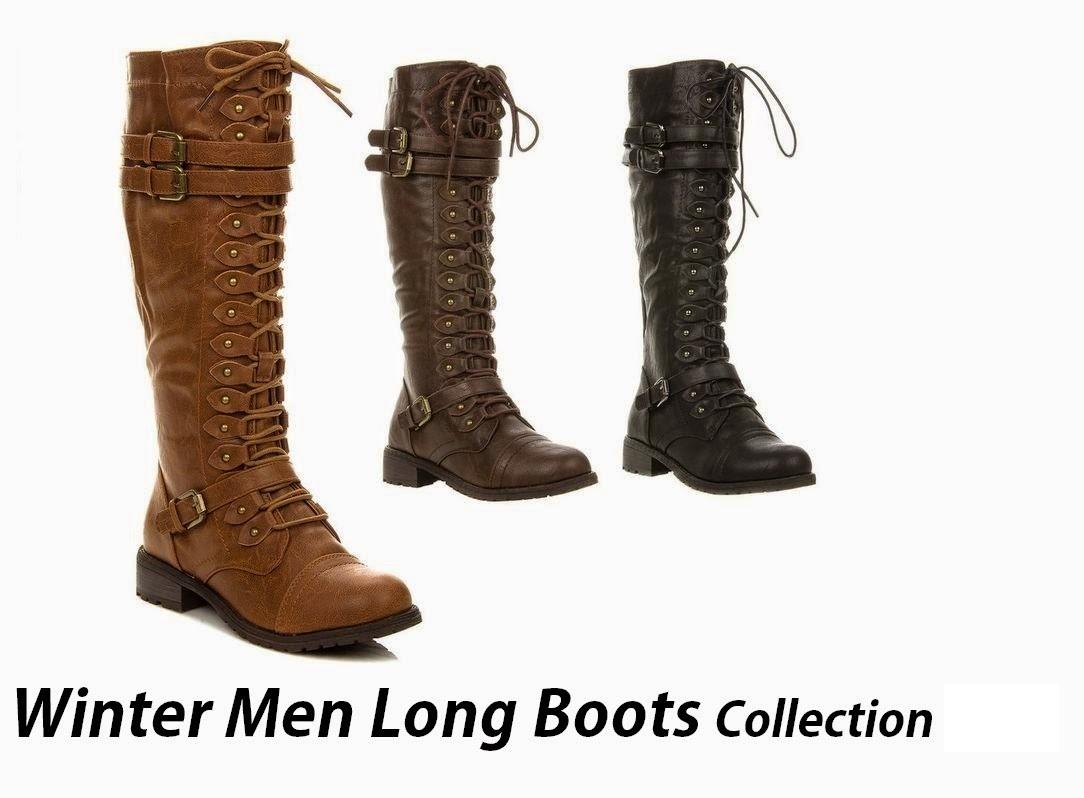Winter-Long-Boots-Collection-For-Men-Boys-Winter-Footwear
