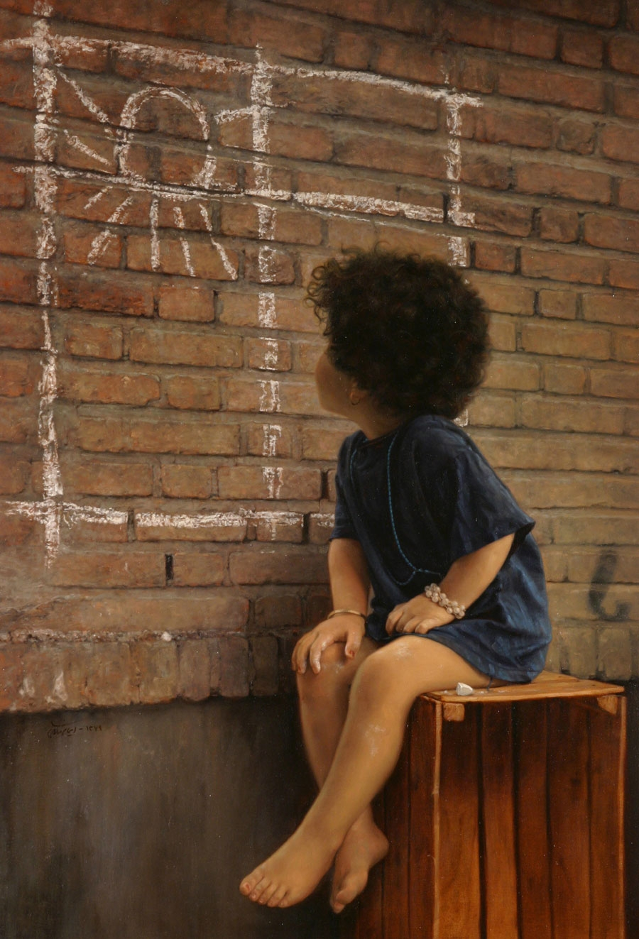 05-Wish-Iman-Maleki-Realistic-Paintings-that-Portray-Intense-Expressions-www-designstack-co