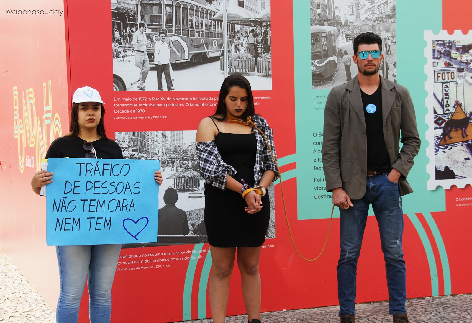 Saiba sobre a Semana de Enfrentamento ao Tráfico de Pessoas que foi realizado em Curitiba, campanha para alertar a população e conscientizar de um dos maiores crimes do mundo. Acesse agora!