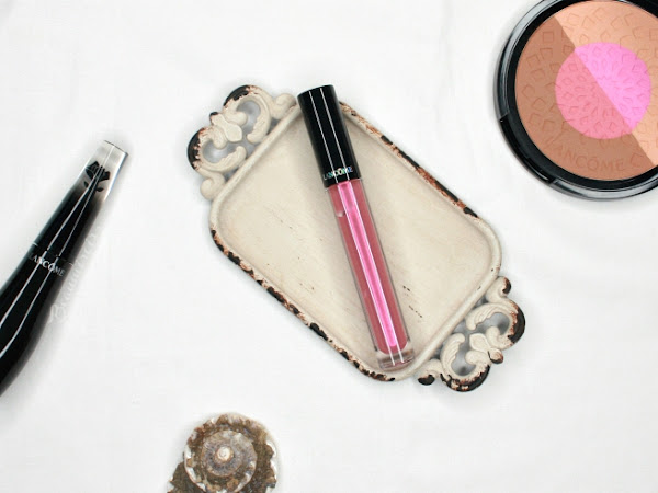 #FrenchFriday : New Lancome Prismatic Plump Lip Gloss Review