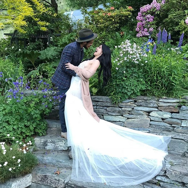 Erwan Heusaff-Anne Curtis Wedding Photos