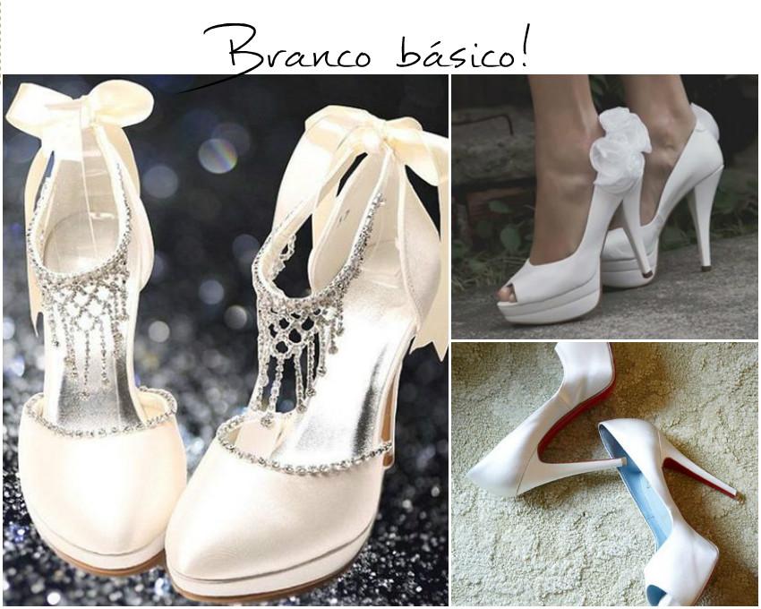 420b3a5c0 Um dos sapatos tem um charme de laço amarrado no tornozelo que remete a uma  coisa de menina romântica e o strass que dá um glamour mais mulher.