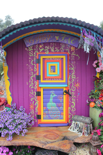 """I'm not dead yet"" and the magical gypsy wagon faerie party…."