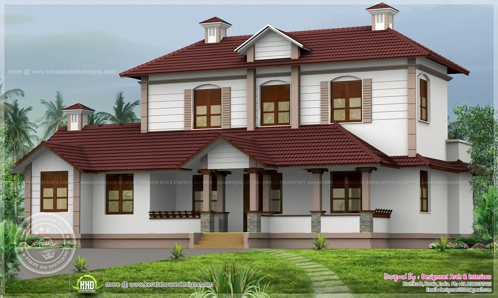Renovation model of an old house home kerala plans - Old farmhouse house plans model ...