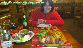 Cenando en Sibiu